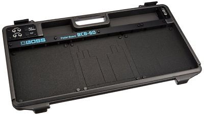 Boss BCB‑60 Deluxe Pedal Board and Case