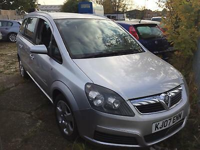 Vauxhall/Opel Zafira 1.9CDTi ( 120ps ) auto 2007 spares or repairs none runner