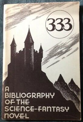 "Donald Grant - ""333"". A Bibliography of the Science-Fantasy Novel, Grandon, 1953"
