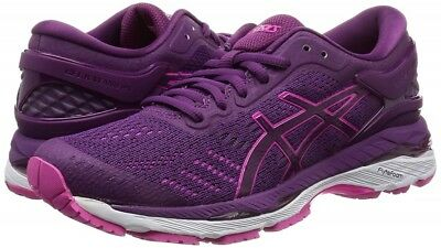 02fb56f246cb ASICS Running Shoes LADY GEL-KAYANO 24 Wide TJG759 Prune Pink Glow With  Tracking