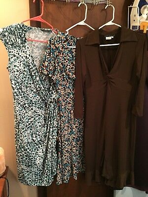 Lot Of 3 Womens Dresses Size Large 12