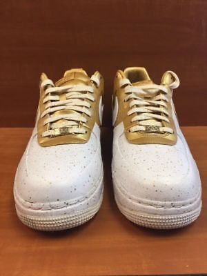 new concept 5fabc 0f86c ... cheap for sale Nike Air Force 1 One Low Supreme I O TZ Homecoming White  Gold 516630 ...