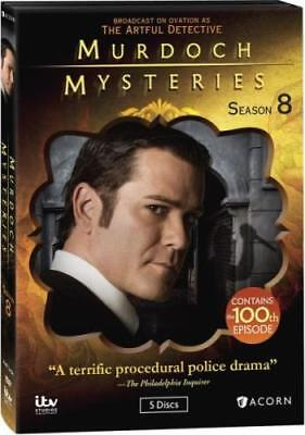 MURDOCH MYSTERIES: SEASON 8 (Region 1 DVD,US Import,sealed.)