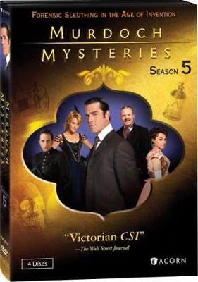 MURDOCH MYSTERIES: SEASON 5 (Region 1 DVD,US Import,sealed.)