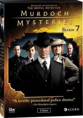 MURDOCH MYSTERIES: SEASON 7 (Region 1 DVD,US Import,sealed.)