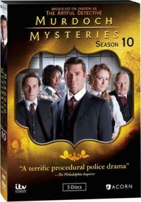 MURDOCH MYSTERIES: SEASON 10 (Region 1 DVD,US Import,sealed.)