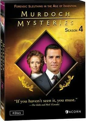 MURDOCH MYSTERIES SEASON 4 (Region 1 DVD,US Import,sealed.)