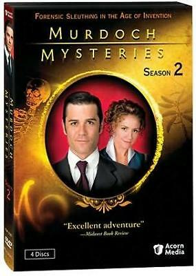 MURDOCH MYSTERIES SEASON 2 (Region 1 DVD,US Import,sealed.)