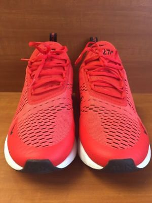 Nike Air Max 270 Habanero Red/Black/White Style# AH8050-601 Men's Size 10.5