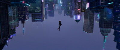 """030 Spider Man Into The Spider Verse - Action 2018 USA Animation 33""""x14"""" Poster"""