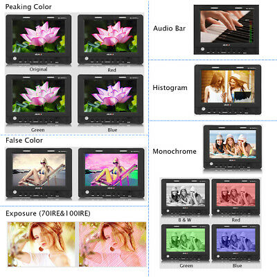 Professional 7'' 1920*1200 IPS Camera Video Field Monitor for S ony A7 DSLR H5R4