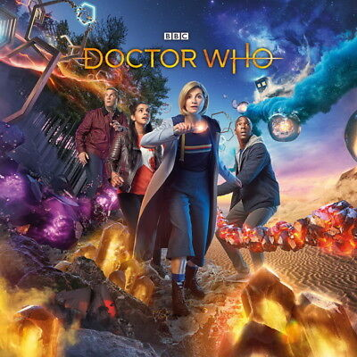 """270 Doctor Who - BBC Space Travel Season 11 Hot TV Show 24""""x24"""" Poster"""