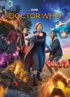 """266 Doctor Who - BBC Space Travel Season 11 Hot TV Show 24""""x33"""" Poster"""