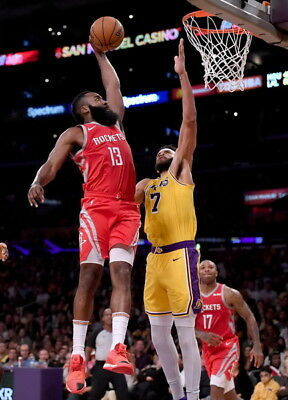 "223 James Harden - Slam Dunk Houston Rocket NBA Basketball 24""x33"" Poster"