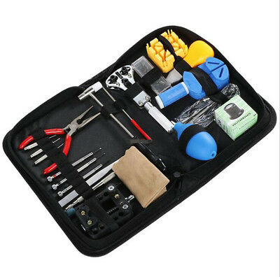 Watch Repair Tool Kit 22 Pieces Strap Remover  Replacement Opener Hammer