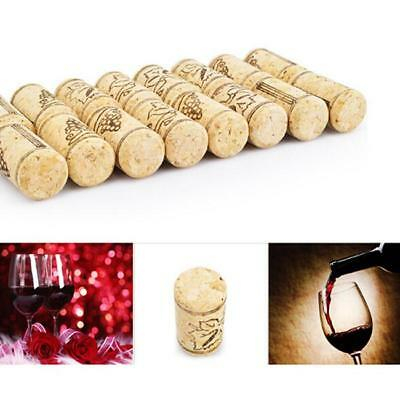 10 Pcs Wood Wine Bottle Tapered Corks Sealing Plug Beer Stoppers Bar Home MA