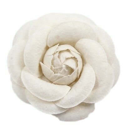 Charm Non-woven Fabrics Camellia Flower Pin Brooch Women Suit Pin Brooch MA