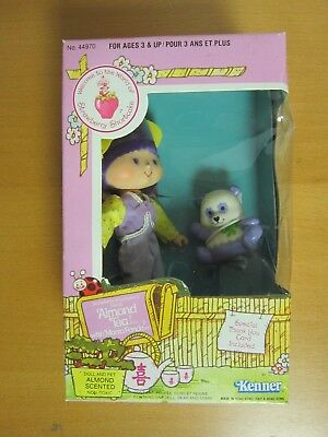 Strawberry Shortcake Doll and Pet - Almond Tea with Marza Panda - Vintage 1982