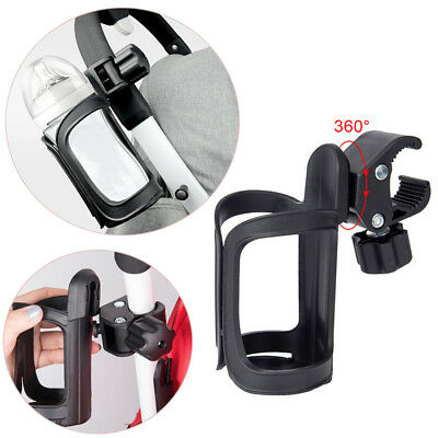Baby Stroller Rotatable Cup Holder Milk Bottle Rack for Bicycle Pushchair Buggy