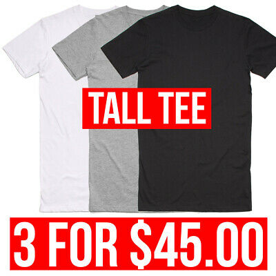 AS COLOUR TALL TEE 3 for $45.00 WHOLESALE CHEAP T-SHIRT