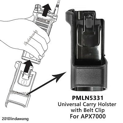 PMLN5331 Universal Carry Holster Case for Motorola APX7000 Portable Radio