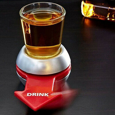 Spin Shot Turntable Drinking Game Toy Roulette Glass Cup For Bar Club Party KTV
