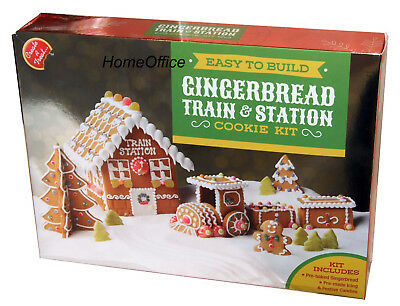 Make Your Own Gingerbread Train & Station House Making Cookie Kit