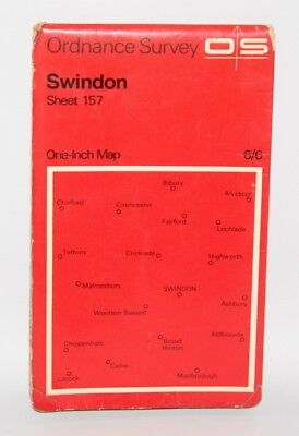 Ordnance Survey - One Inch Map - Swindon - Sheet 157 - 1968