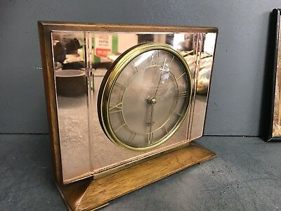 Antique Smiths Sectric Art Deco Mantel Clock - Stunning And Immaculate