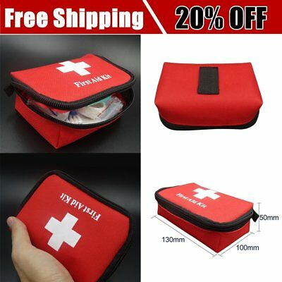Travel Emergency Survival Sport Bag Mini Portable First Aid Kit Home& Outdoor RP