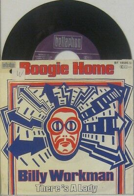 """Billy Workman boggie home / there s a lady , 7"""" 45"""