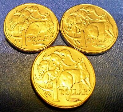 """2019 New $1 Dollar future CoinsSet of 3, A/U/S """"SPECIAL"""" FREE REGISTERED POST"""