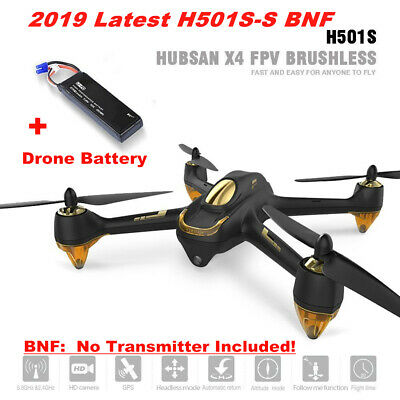 Hubsan H501S -S X4 Drone FPV Live Video Brushless 1080P Quadcopter GPS BNF