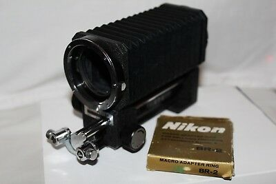 nikon bellows and adaptor br-2 a1 condition hardley used