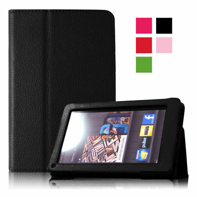 Magnetic Case PU Leather Stand Shockproof Cover For Kindle Fire 2011 7'' inch