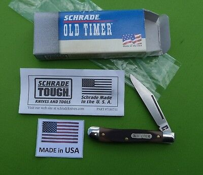 "Schrade USA made 12OT Old Timer ""Pal"" Knife New in Box"