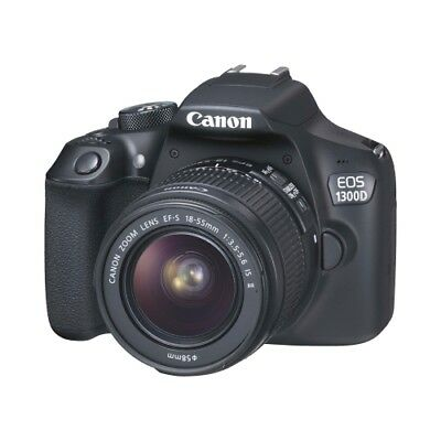 Canon EOS 1300D EF-S 18-55 IS POWER KIT (+Batt.) Photo Digital 18 Megapixel
