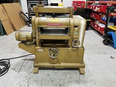 "Powermatic Model 180 18"" Wood Planer, with Complete Grinder, Made In USA"