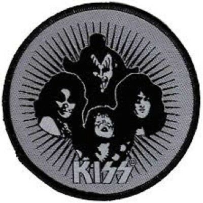 KISS HOTTER THAN HELL 10cm patch Lizenziert