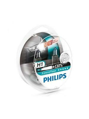 H1 Philips Extreme Vision Bulbs 130% Brighter P12258XVS2 *BRAND NEW IN STOCK*