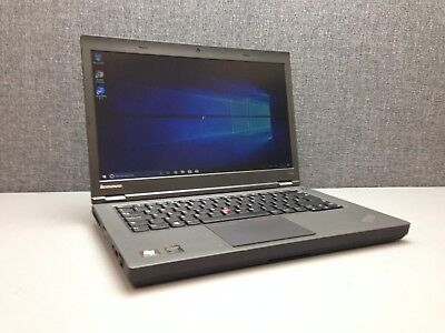 LENOVO T440P LAPTOP, i5-4300M @ 2 6GHz CPU, 8GB RAM, 500GB HDD, Win 10,  BIOS PW
