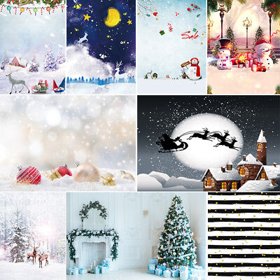 Christmas Theme Customized Photography Backdrops Background For Studio 10*10Ft
