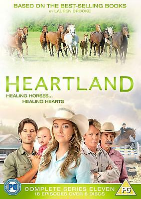 Heartland: The Complete Eleventh Season (DVD) Amber Marshall, Shaun Johnston