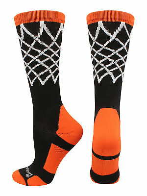 Basketball Net Athletic Crew Socks boys girls gift hoop crazy elite mens team