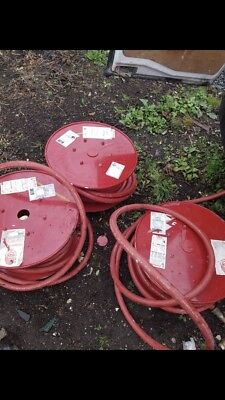 Red First Aid Fire Hose Reels X 3 Type A BS 3169 19mm X 30mm