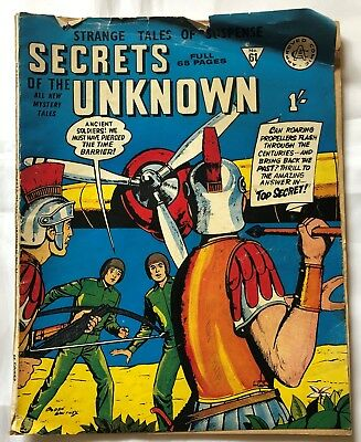 Secrets of the Unknown  #61 - Silver age - British Edition