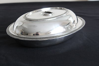 Silver Plated Serving Dish without detachable finial