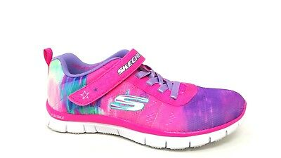 New Youth Skechers S Lights Skech Rayz Shoes Style 90570L Black//Lime 80H  pr