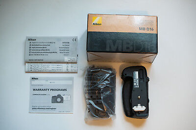 Genuine Nikon MB-D16 Multi Battery Power Pack Grip for D750 Camera - NEW