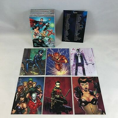 DC COMICS: THE NEW 52 (Cryptozoic/2012) Complete Trading Card Set (62) SUPERMAN